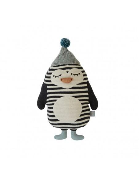 Cushion Penguin Bob Toy - OYOY
