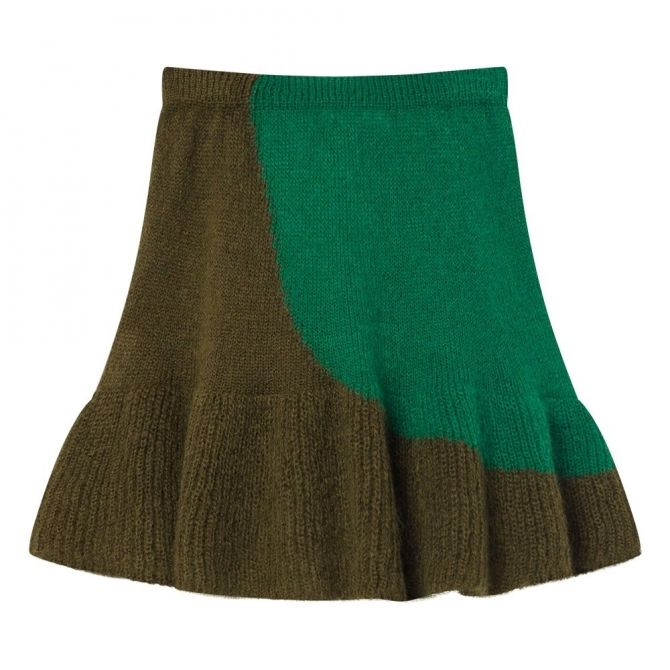 The Animals Observatory Skirt Swan Electric Green