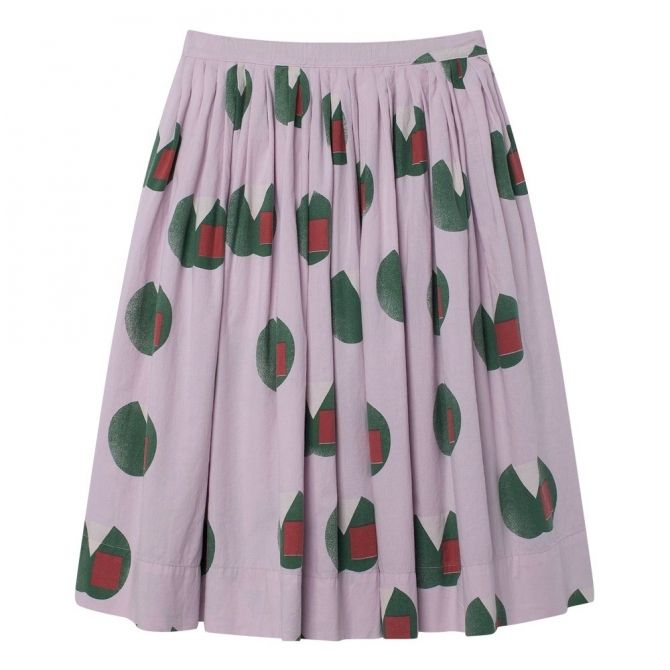 Jellyfish Kids Skirt Purple Apples - The Animals Observatory