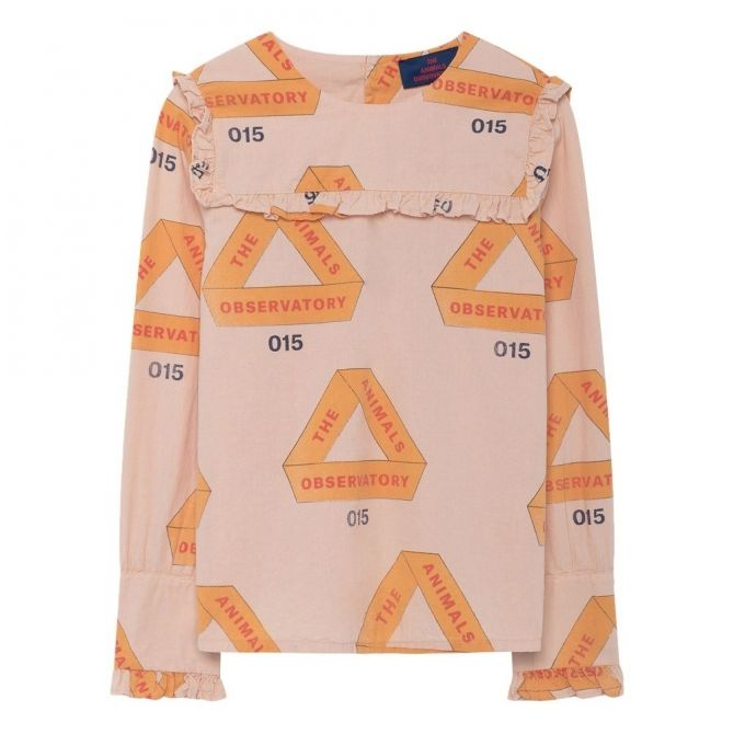 The Animals Observatory Gadfly Kids Shirt Rose Triangles