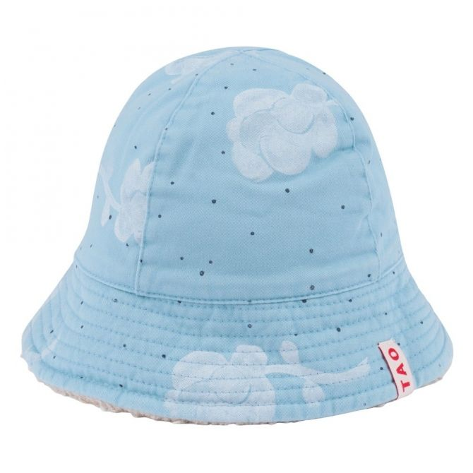 Starfish Kids Hat Blue Flowers - The Animals Observatory