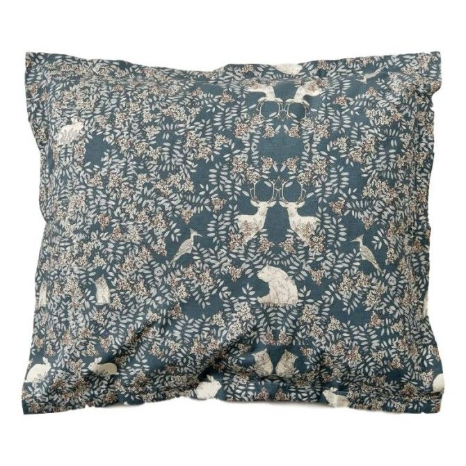 Fauna Adult Pillowcase EU dark green - Garbo & Friends