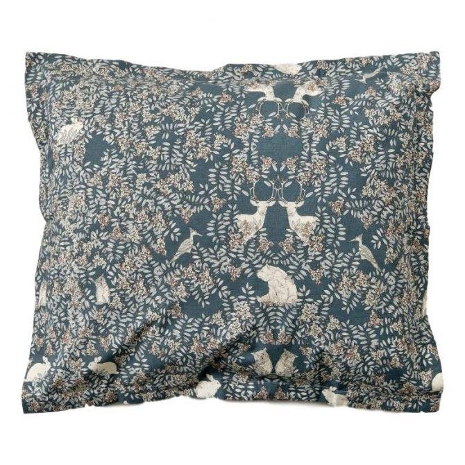 Poszewka na poduszkę Fauna ciemnozielona - Garbo & Friends