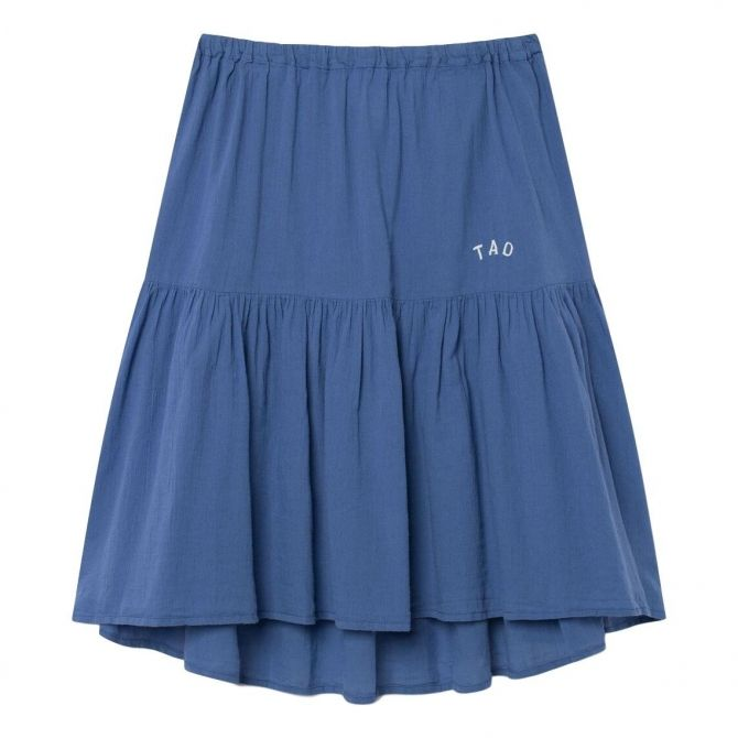 Bird Kids Skirt Blue White TAO - The Animals Observatory