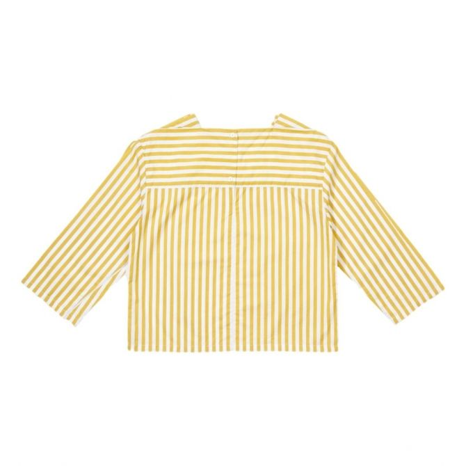 Inari Blouse yellow stripes