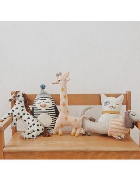 Poduszka Kucyk Pelle Zabawka beżowa - OYOY