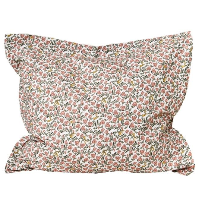 Floral Vine Adult Pillowcase EU red - Garbo & Friends