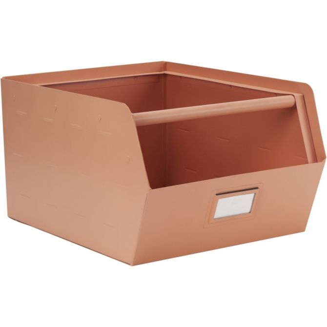 Metal Storage Box pink - Kids depot