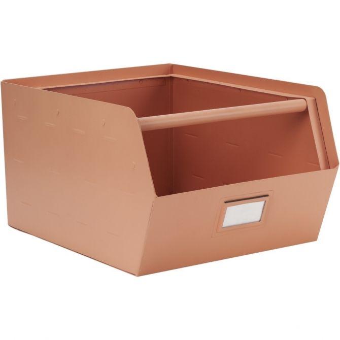 Metalowe pudełko różowe - Kids depot