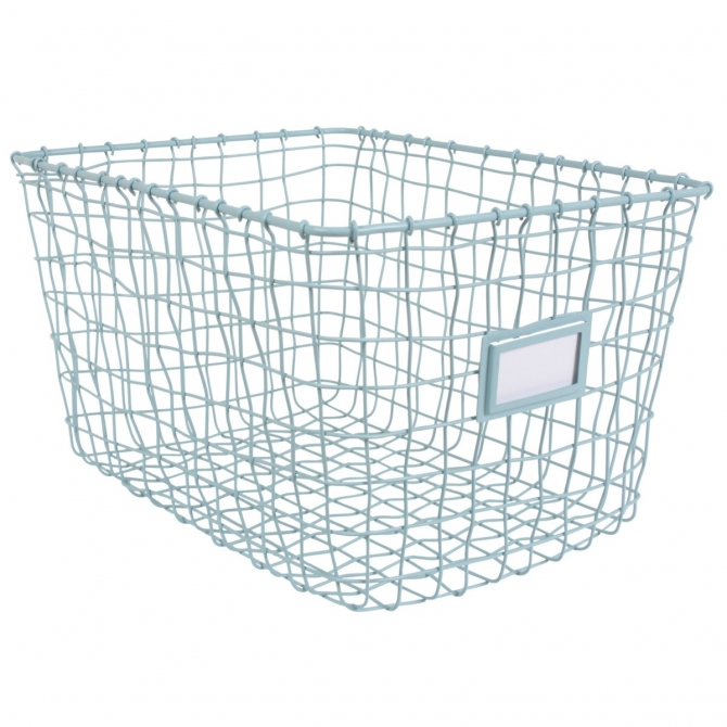 Wire basket blue - Kids depot