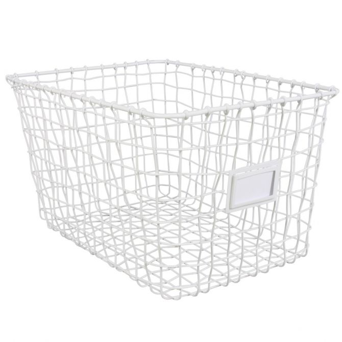Kids Depot Wire basket white