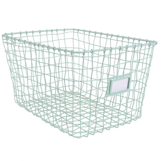 Wire basket mint - Kids depot