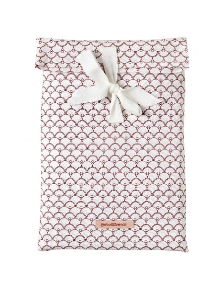 Garbo & Friends - Cupola Rust Baby Bedset BS SE white - 2