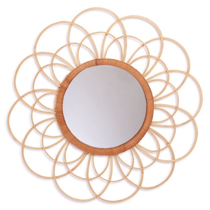 Zoom Mirror Bamboo natural - Kids depot