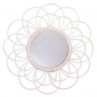Lustro Zoom Spiegel Bamboo białe