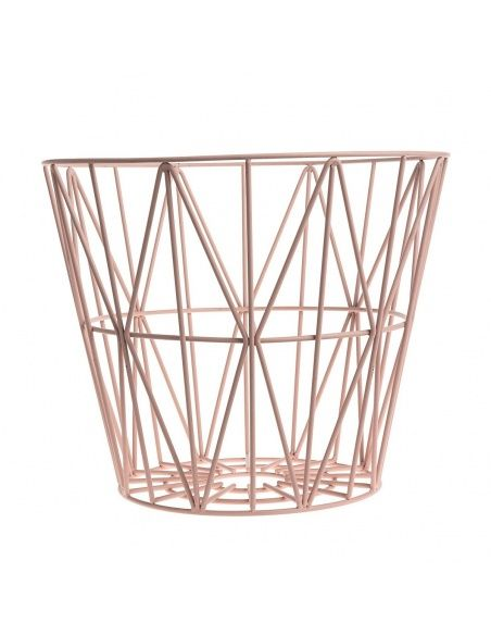 Ferm LIVING Wire Basket rose