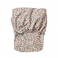 Floral Vine Junior Fitted Sheet red