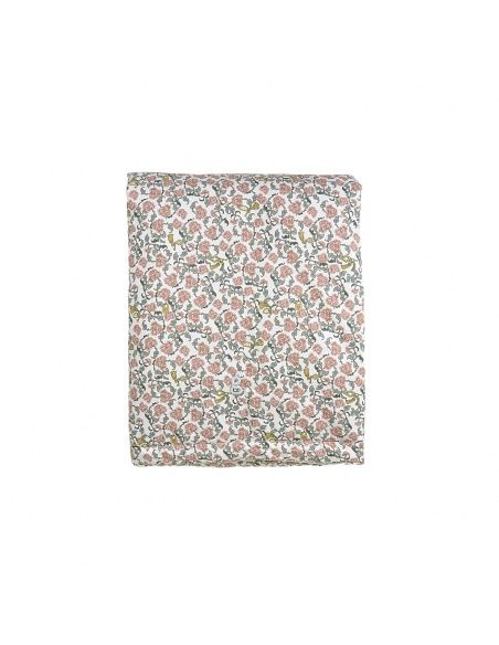 Floral Vine Bed Quilt red - Garbo & Friends