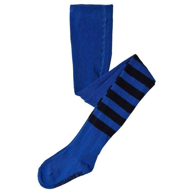 Bobo Choses Rajstopy Striped niebieskie