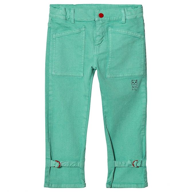 Bobo Choses W.I.M.A.M.P. Green Trousers