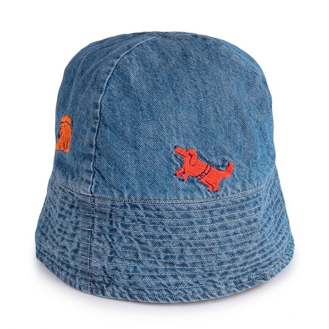 Animals Hat blue - Bobo Choses