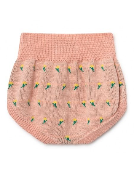 Bobo Choses Bloomer Flowers Knitted różowy