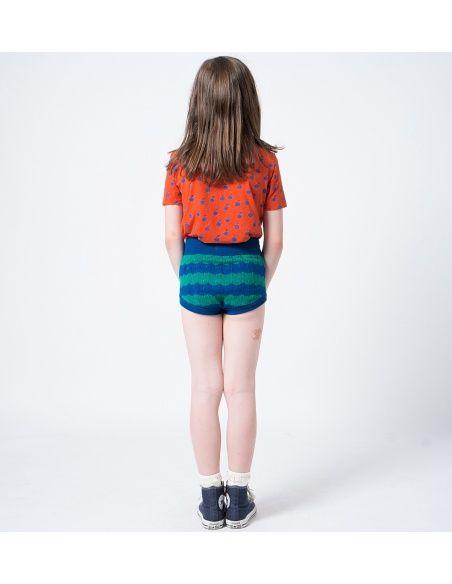 Bobo Choses Bloomer Strawberry Knitted niebieski