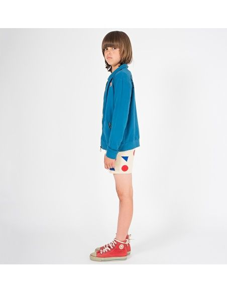 Bluza Open Zipped niebieska - Bobo Choses
