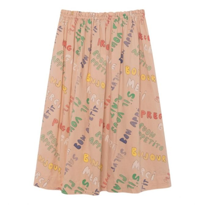 The Animals Observatory Blowfish Kids Skirt pink