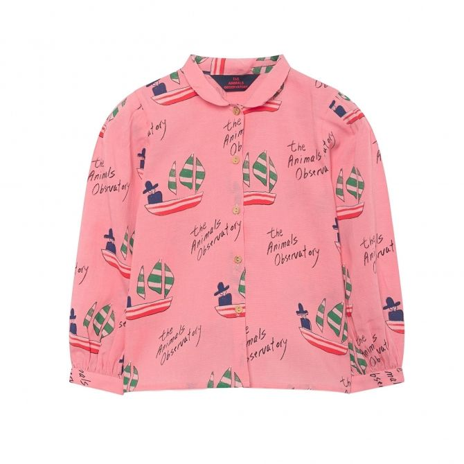 Gadfly Kids Shirt pink - The Animals Observatory