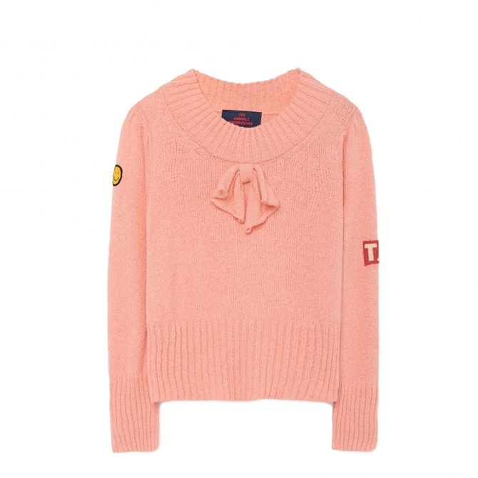 The Animals Observatory Horsefly Kids Sweater pink