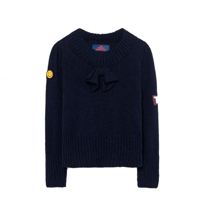 The Animals Observatory Horsefly Kids Sweater blue