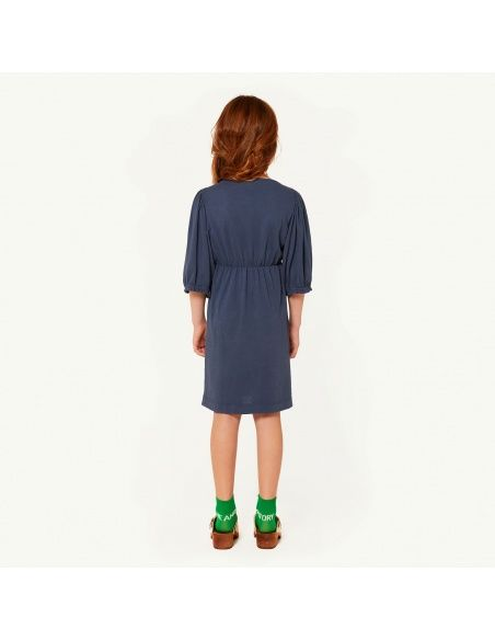 The Animals Observatory Swallow Kids Dress blue
