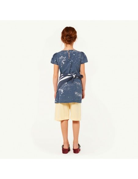 The Animals Observatory Flamingo Kids Dress blue