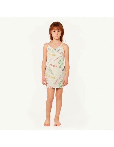 The Animals Observatory Weasel Kids Dress white