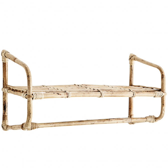 Hanging Bamboo Shelf - Madam Stoltz