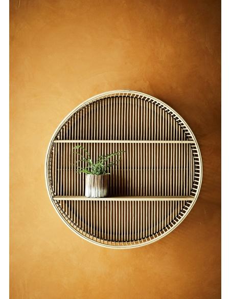 Szafka wisząca okrągła Bamboo - Madam Stoltz