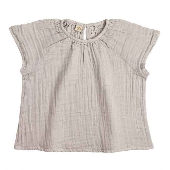 Bluzka dziecięca Clara pudrowa - Numero 74