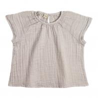 Bluzka dziecięca Clara pudrowa