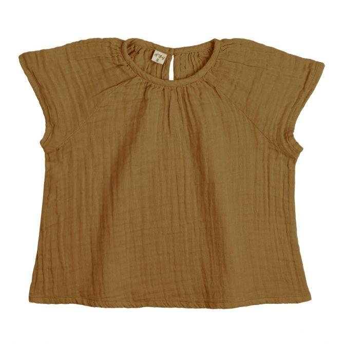 Bluzka dziecięca Clara musztardowa - Numero 74