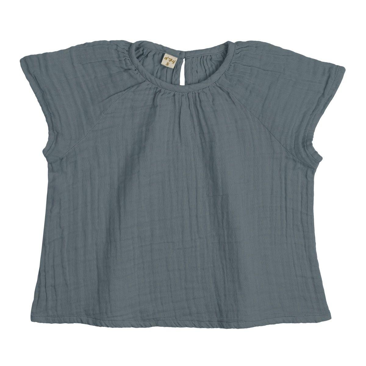 Bluzka dziecięca Clara szaroniebieska - Numero 74