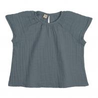 Bluzka dziecięca Clara szaroniebieska