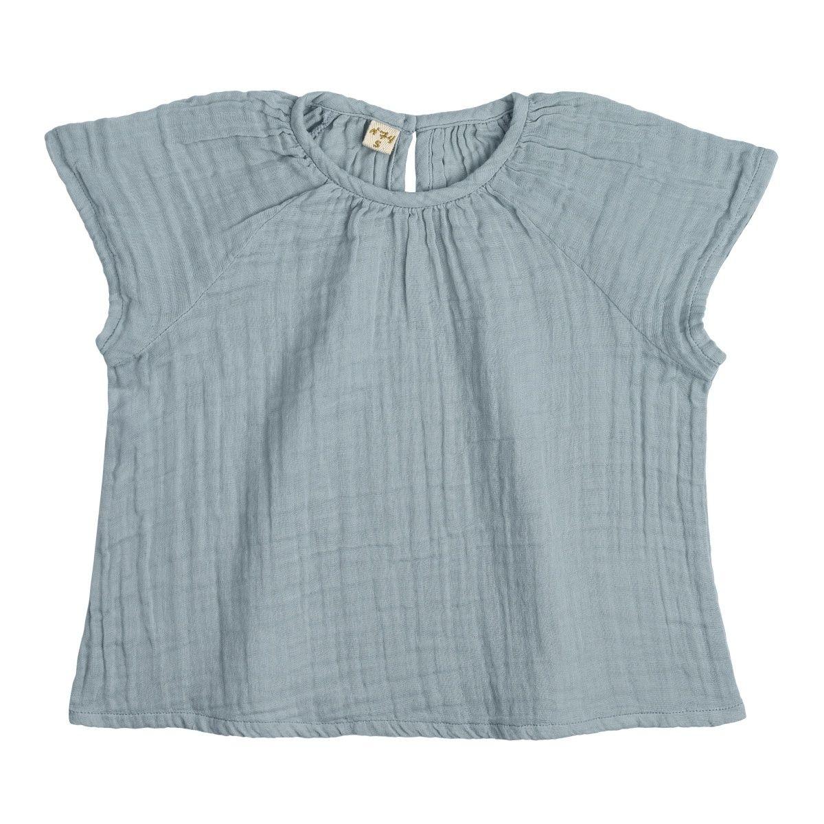 Bluzka dziecięca Clara zgaszony błękit - Numero 74