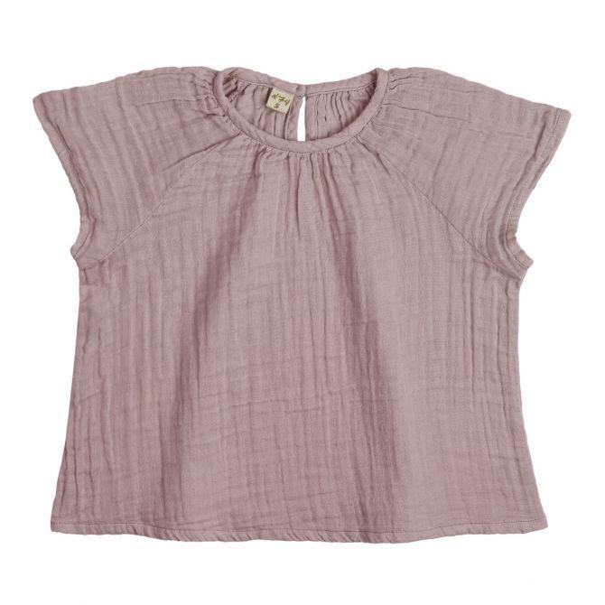 Bluzka dziecięca Clara zgaszony róż - Numero 74