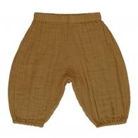 Spodnie Joe musztardowe