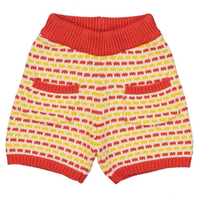 Hello Simone Coucou Shorts yellow