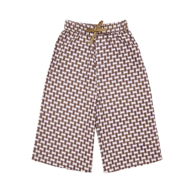 Spodnie Cherry Culottes Cherry Brown brązowe - Caramel Baby &