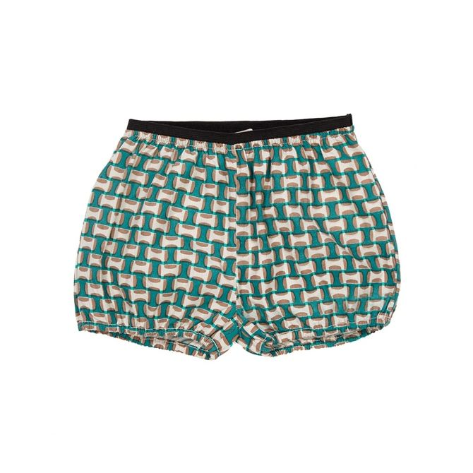 Caramel Baby & Child Shorts Oleander light poplin green