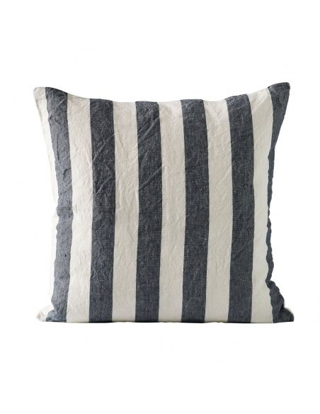 Tine K home Cushion cover striped navy