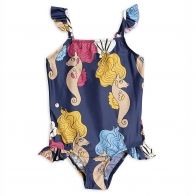 Seahorse Wing Swimsuit blue